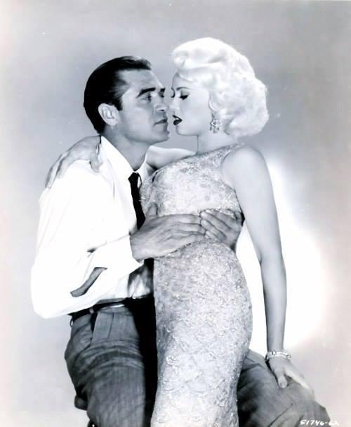 Steve Cochran and Mamie VanDoren