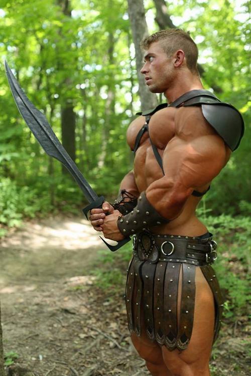 Gratuitous Shirtless Warrior