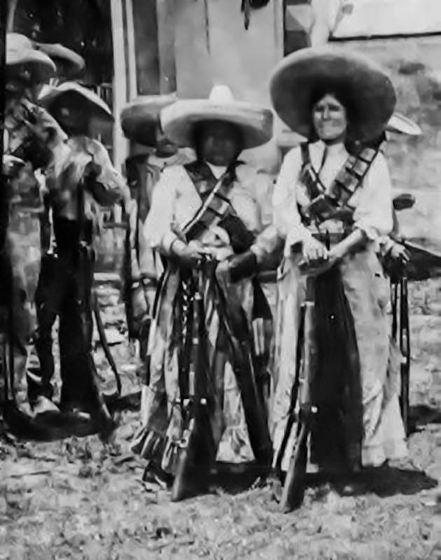 Women of the Mexican Revolution,1910s