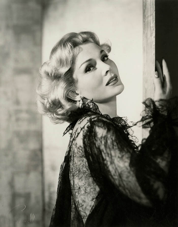Zsa Zsa Gabor, darlings, photographed by Wallace Seawell, 1953