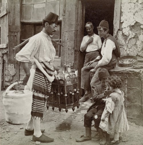 Ice-cream seller, Constantinople,1898