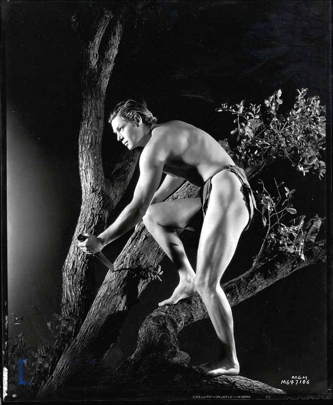"Johnny Weissmuller, ""Tarzan & His Mate"",1934"