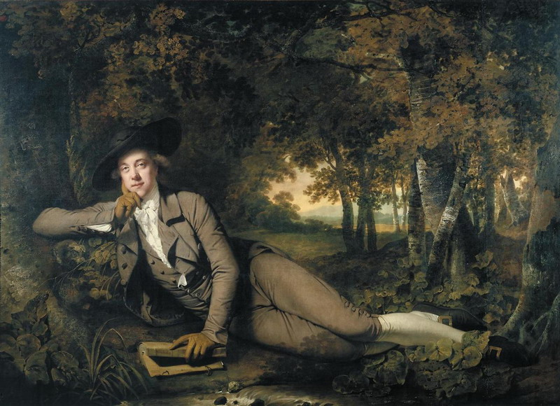 Sir Brooke Boothby by Joseph Wright of Derby,1781