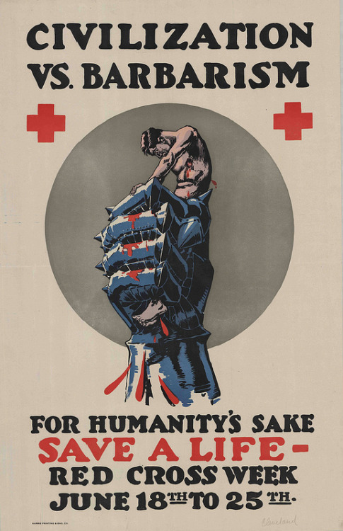 Red Cross, WWI