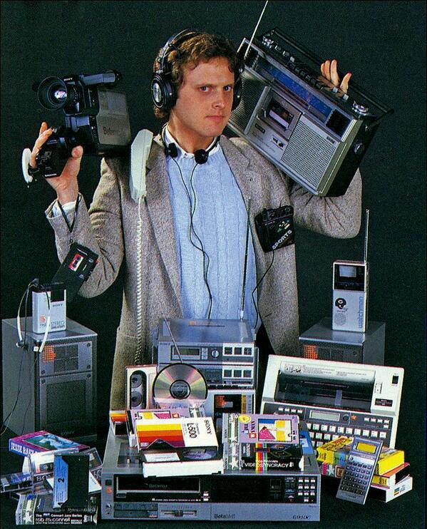 1980s Electronic Technology