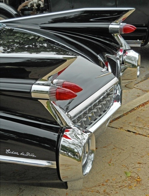 Cadillac Sedan de Ville Fins,1950s