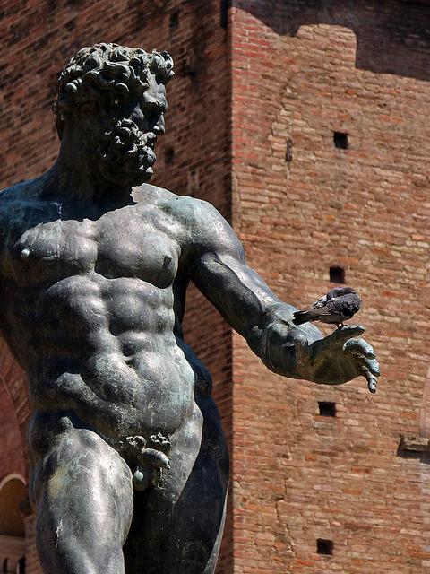 Fontana del Nettuno, Bologna,Italia