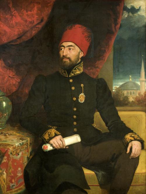 "George Dawe, ""Portrait of an Ottoman Dignitary"", 1825"