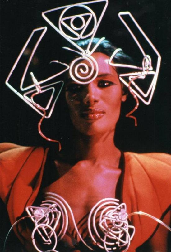 """Grace Jones in """"VAMP"""", 1986"""