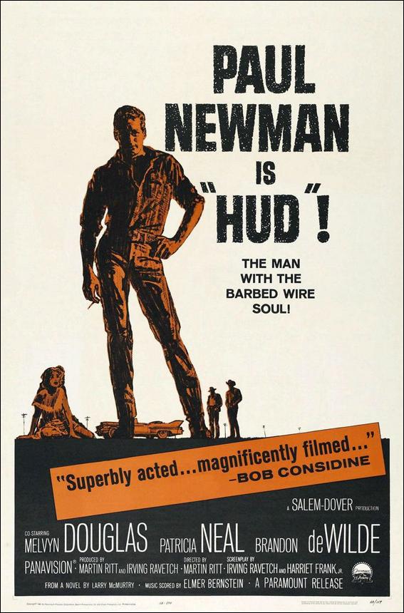 """Paul Newman is """"Hud""""!"""