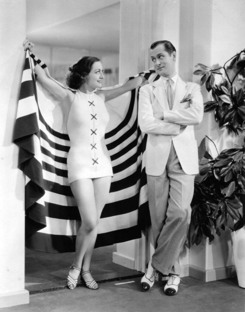 Joan Crawford and Robert Montgomery, early1930s