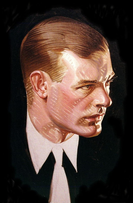 Portrait by JC Leyendecker