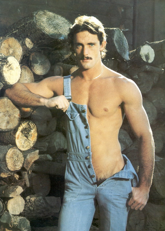 Lumberjack pornstache, circa1980