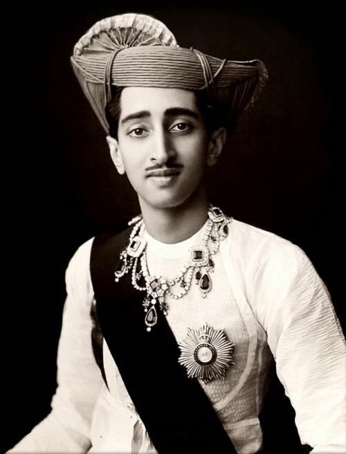 Maharaja Yeshwant Rao Holkar II of Indore,1920s