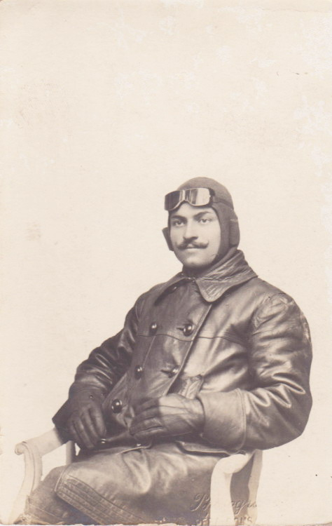 Air Force pilot, Ottoman Empire, 1914