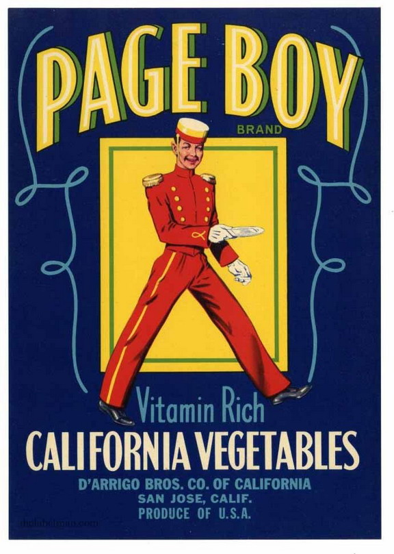 Page Boy Vegetables