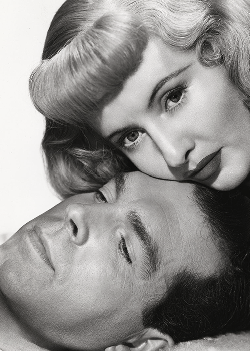 "Fred MacMurray and Barbara Stanwyck in ""Double Indemnity"", 1944"