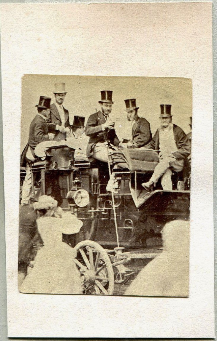 Stagecoach and tophats