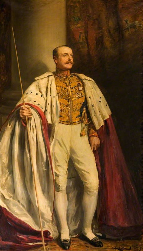 The Right Honourable Charles Henry John, 20th Earl of Shrewsbury and Waterford