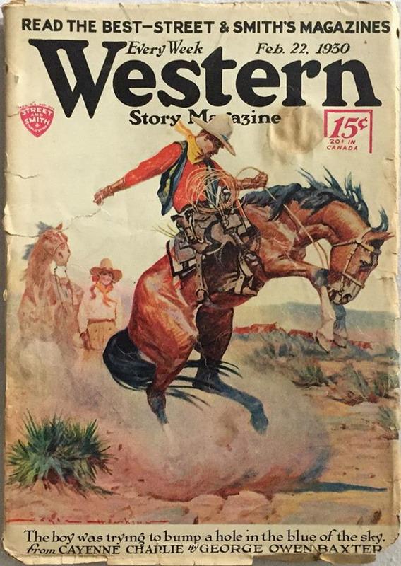 Western Story Magazine,1930