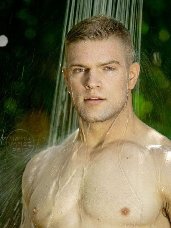Wet model by DavidVance