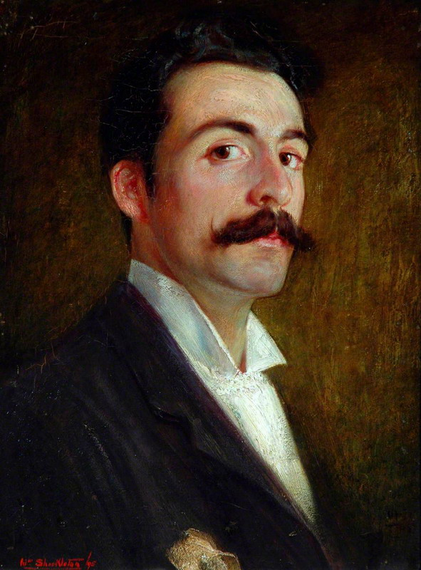 William Shackelton, Self-Portrait at the age of 23,1895