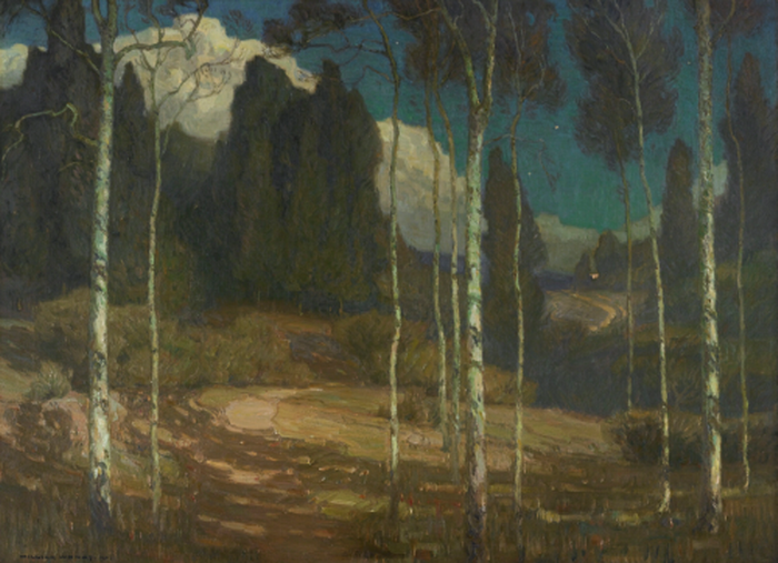 """William Wendt, """"The Silence of Night"""",1910"""