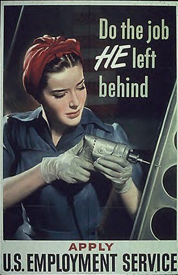 WWII Poster: Do the job he left behind