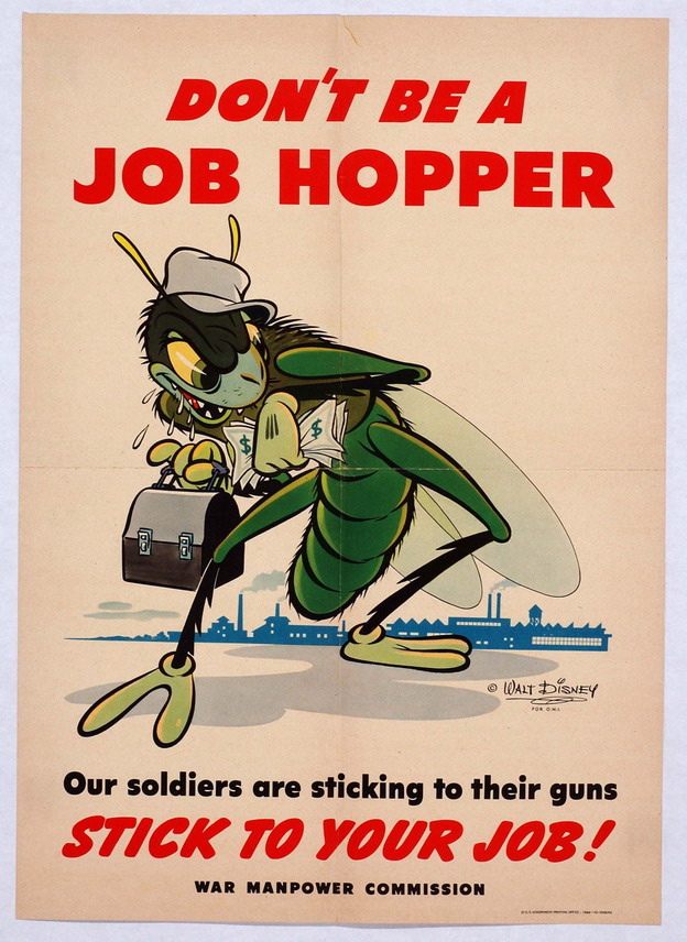 Sinister illustration by Walt Disney for US WWIIpropaganda