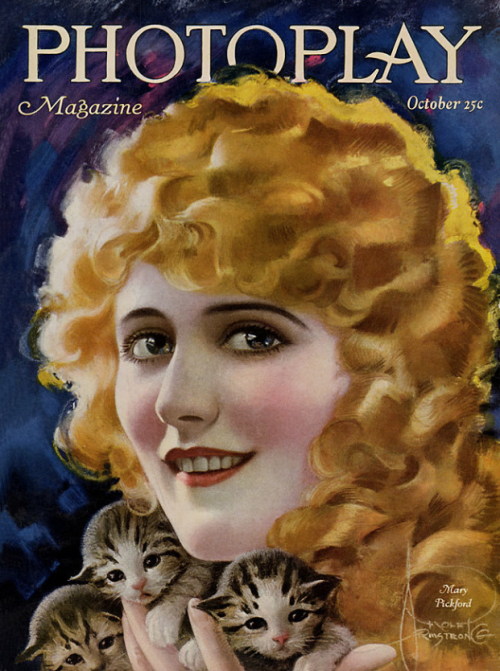 Mary Pickford on the cover of Photoplay