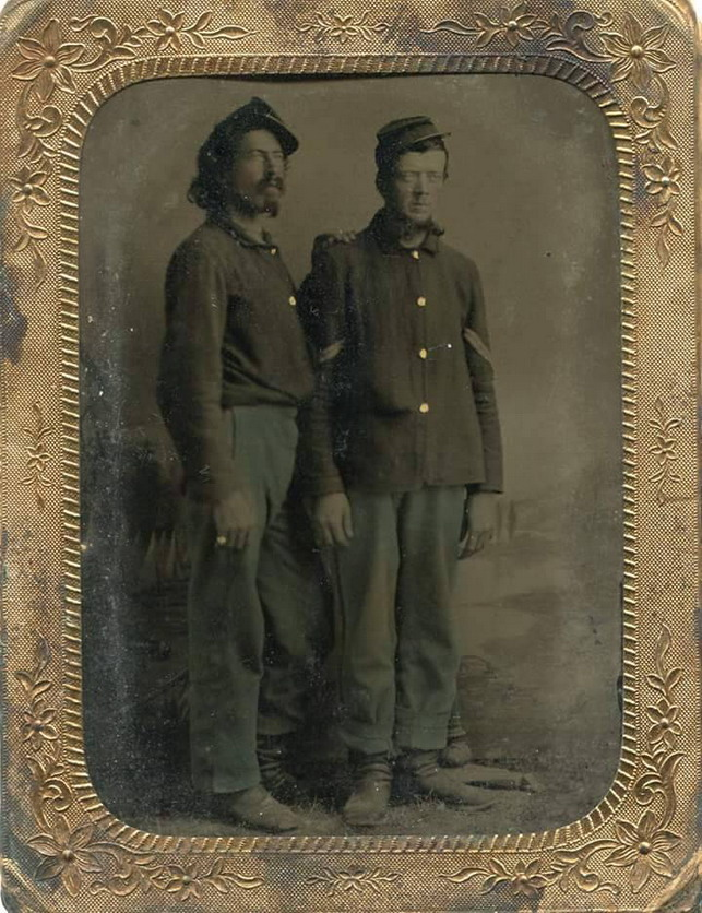 US Civil War Soldiers Together