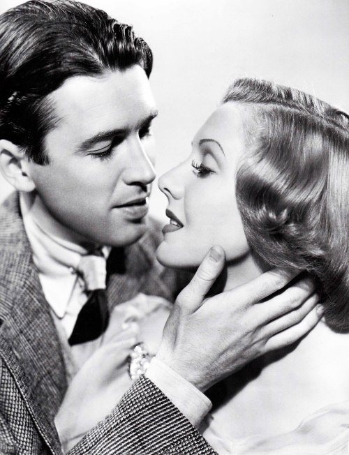 "James Stewart and Jean Arthur in ""You Can't Take It with You"", 1938)"