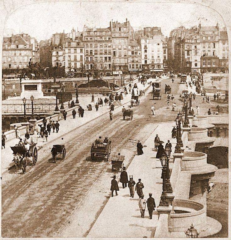Pont Neuf, Paris,1800s