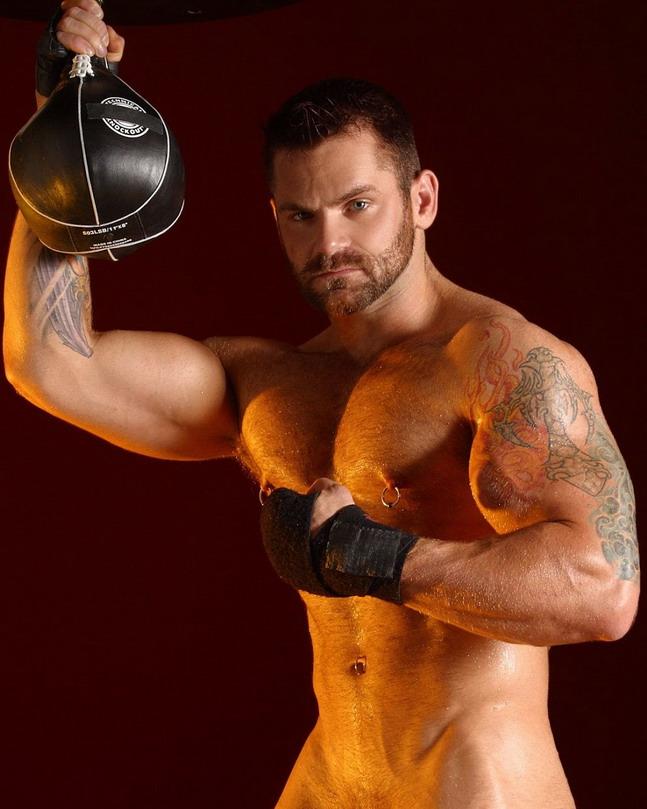 Gratuitous Shirtless Boxer