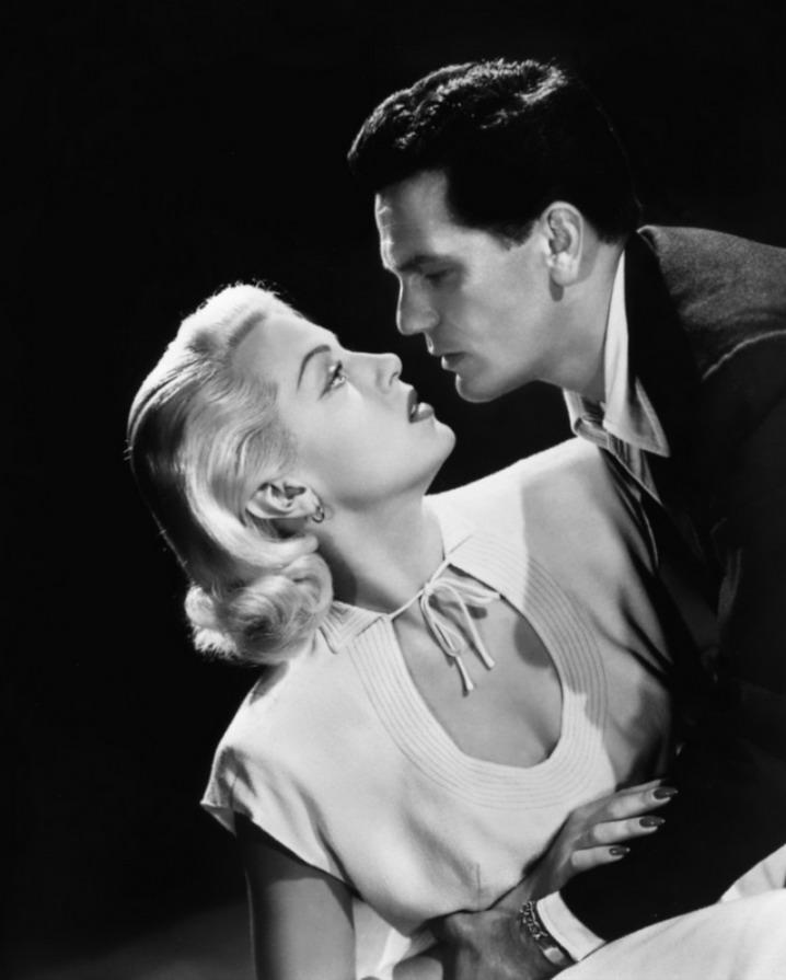 "Lana Turner & John Garfield in ""The Postman Always Rings Twice"",1946"