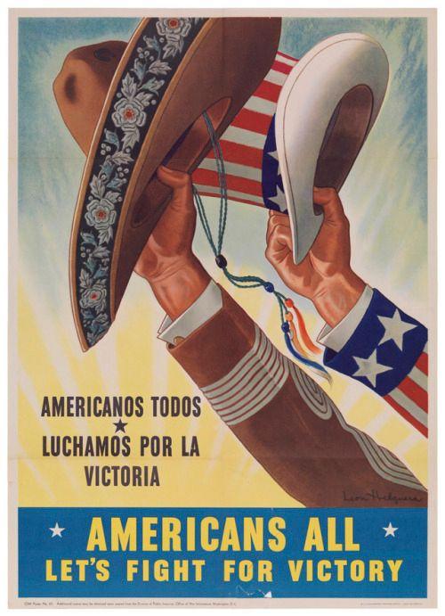 Mexican-Americans, WWII, Luchamos Por laVictoria!