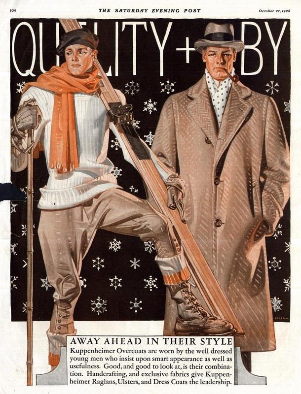 Ski/Winter Wear, 1928