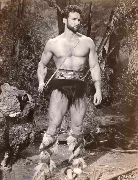 Shirtless Warrior SteveReeves