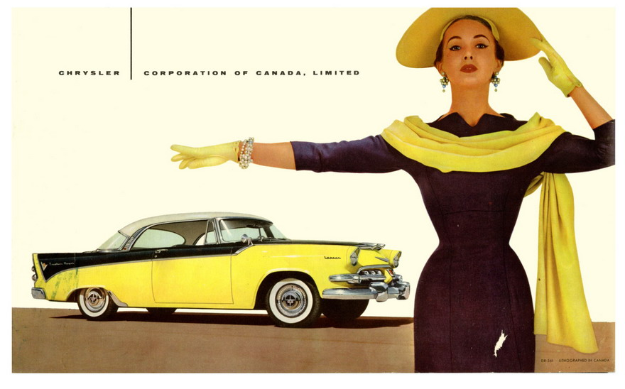 1956 Dodge Custom Royal ad, Canada