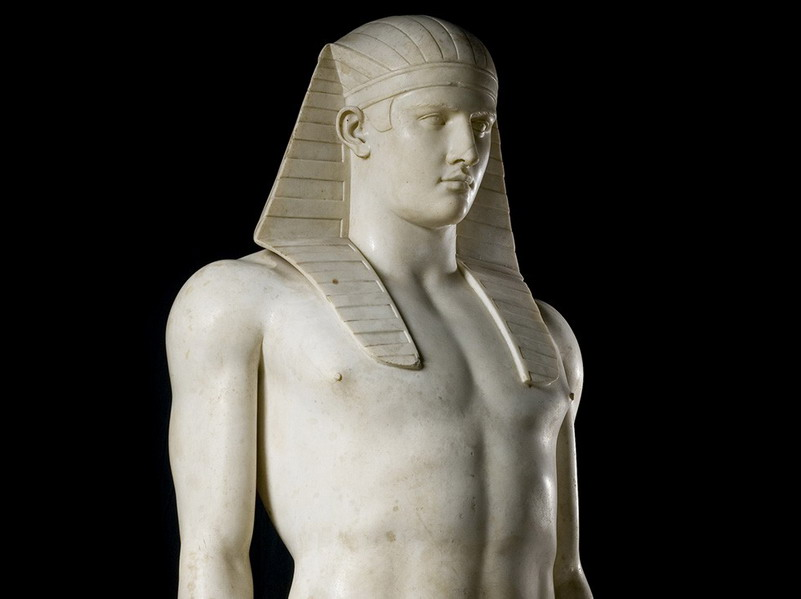Antinous as Osiris