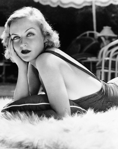 Carole Lombard by Clarence Sinclair Bull,1930s