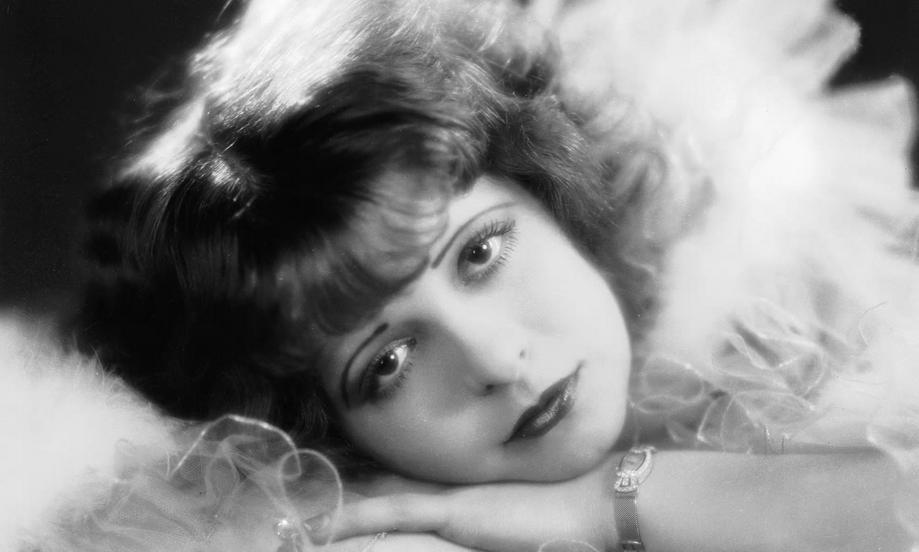 Silent film star ClaraBow