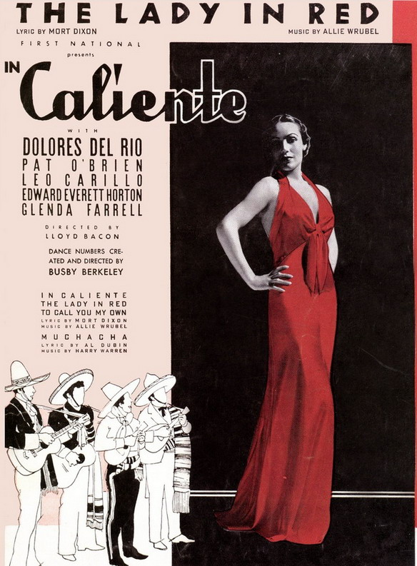 Dolores Del Rio, The Lady in Red