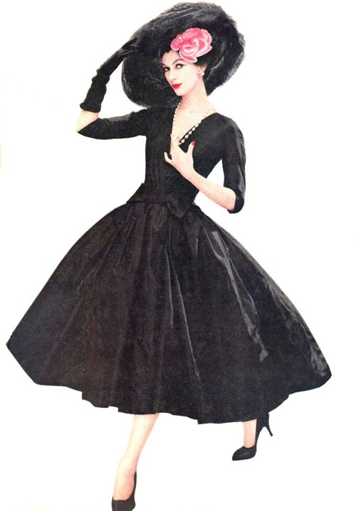 1950s Supermodel Dovima