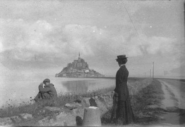 Mont St. Michel, France,1900
