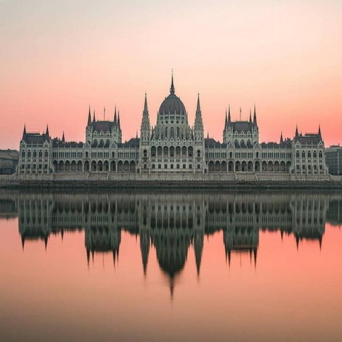 Hungarian parliament building,Budapest