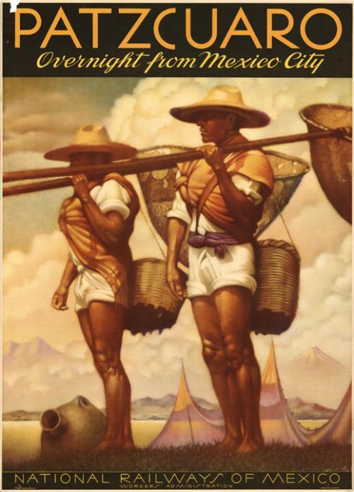 Vintage Mexico TravelPoster