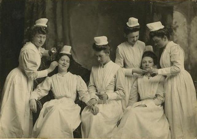 Nurses nursing