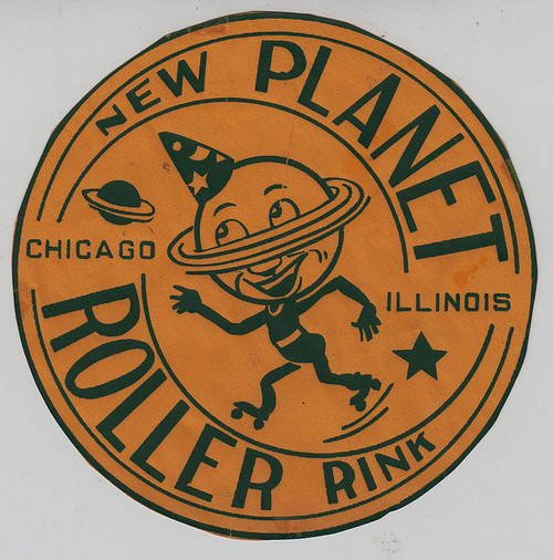 New Planet Roller Rink,Chicago