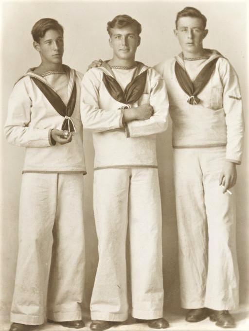 Vintage Sailor Trio